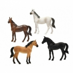 4 Horses assorted -scale 1.32