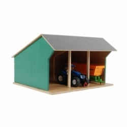 Farm shed for 3 tractors