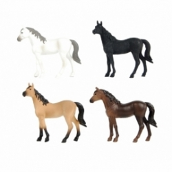 4 Horses assorted - scale 1.32