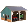 Farm shed for 2 tractors