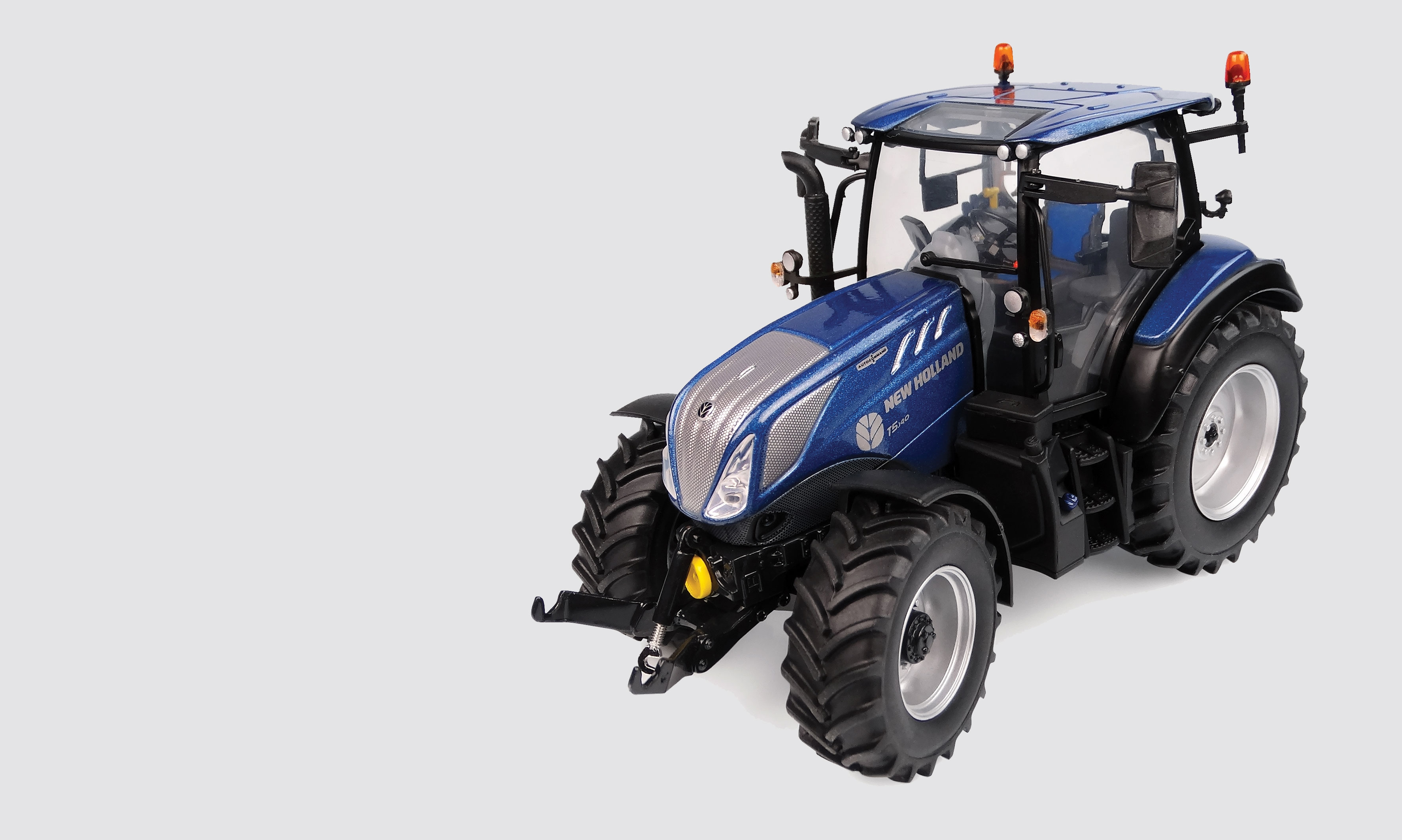 New Holland T5.140 Blue Power – low roof – High visibility